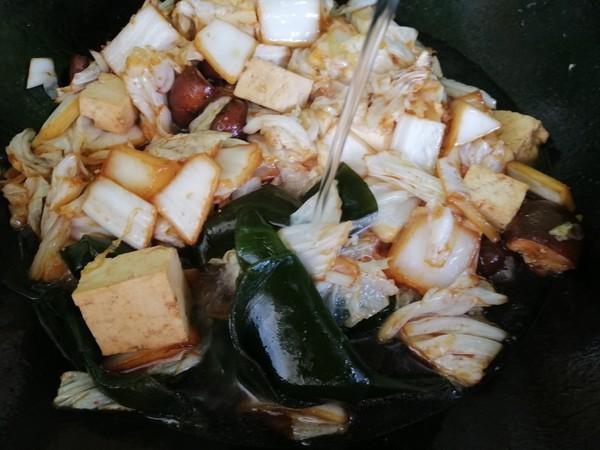 白菜粉条大锅菜怎么做