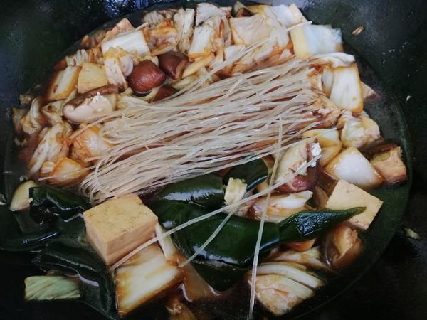 白菜粉条大锅菜怎么炒