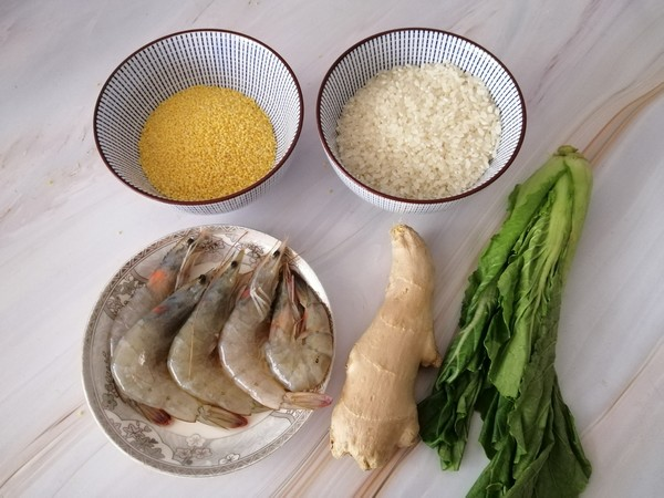 二米鲜虾粥的做法大全