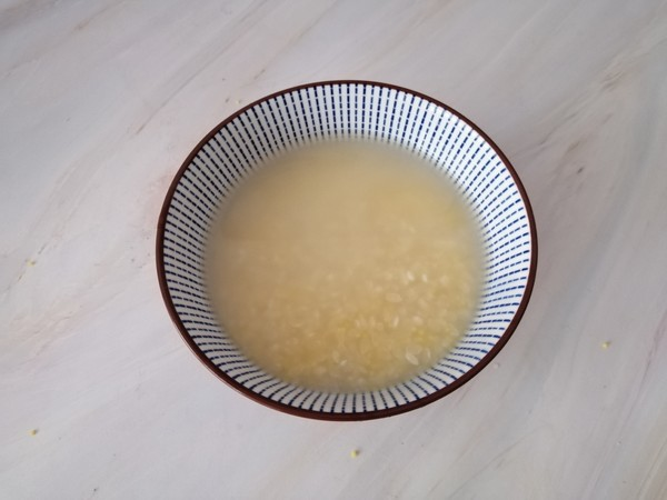 二米鲜虾粥的做法图解