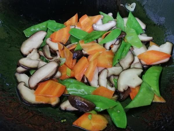 香菇炒荷兰豆怎么煮
