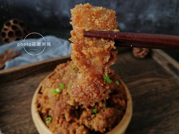 南瓜粉蒸肉成品图