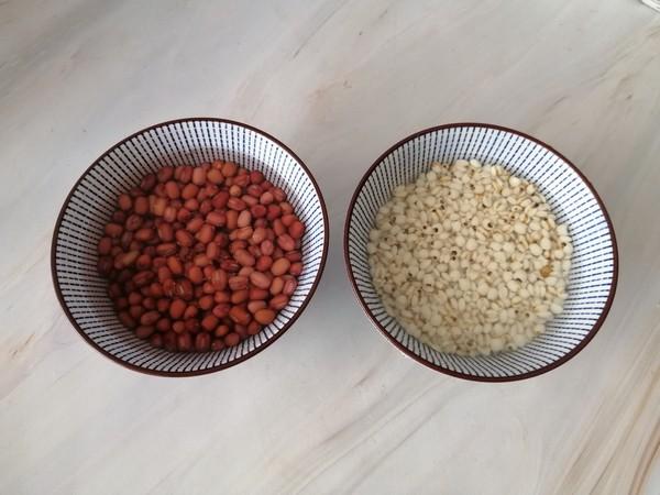 牛奶红豆薏米粥的做法图解