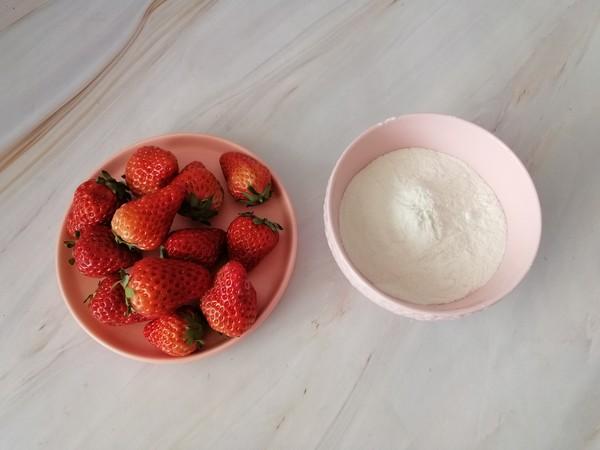 草莓糯米糍的做法大全