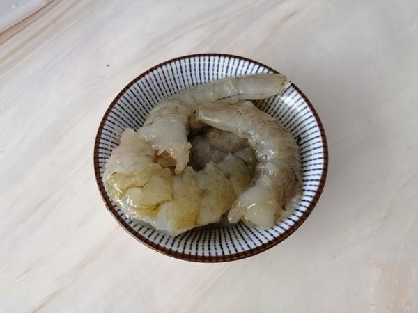 虾仁菠萝炒饭的做法图解
