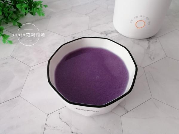 紫薯米糊怎么煮
