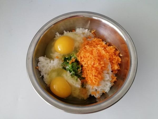 鸡蛋香煎米饼的家常做法