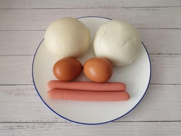 鸡蛋火腿肠炒馒头的做法大全