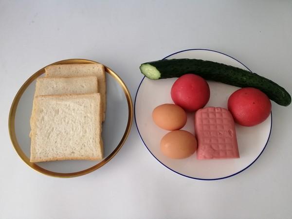 三明治早餐的做法大全