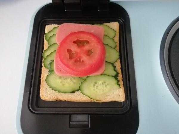 三明治早餐的简单做法