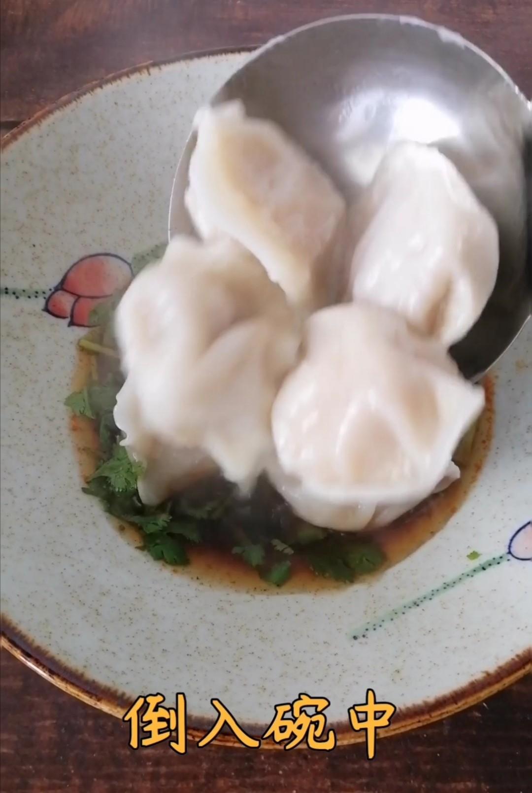 酸汤水饺的简单做法