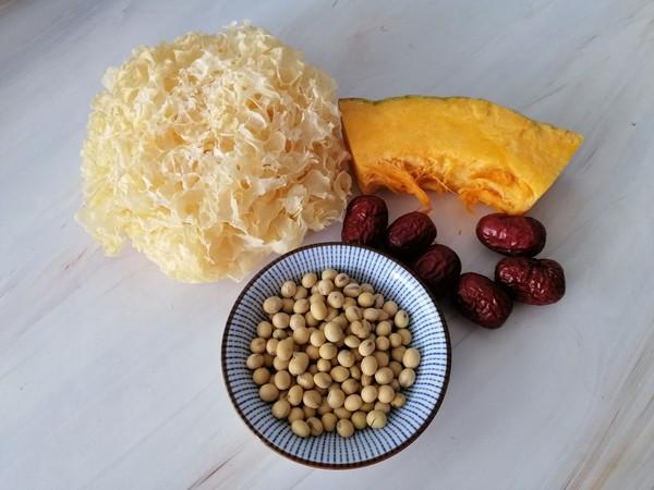南瓜银耳豆浆的做法大全