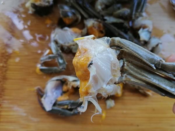避风塘炒蟹的家常做法