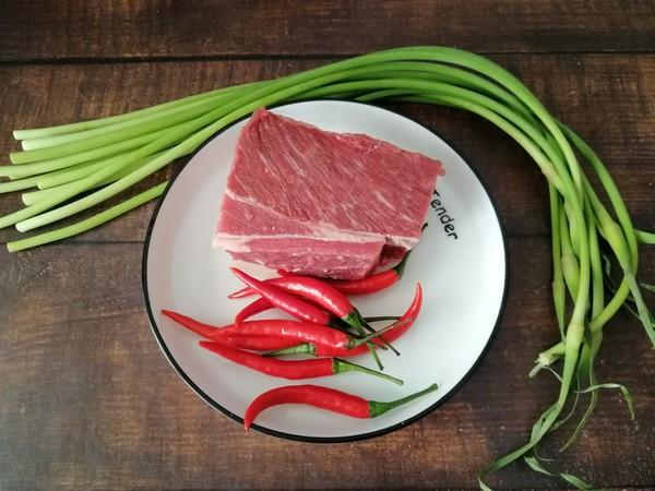 小炒黄牛肉的做法大全