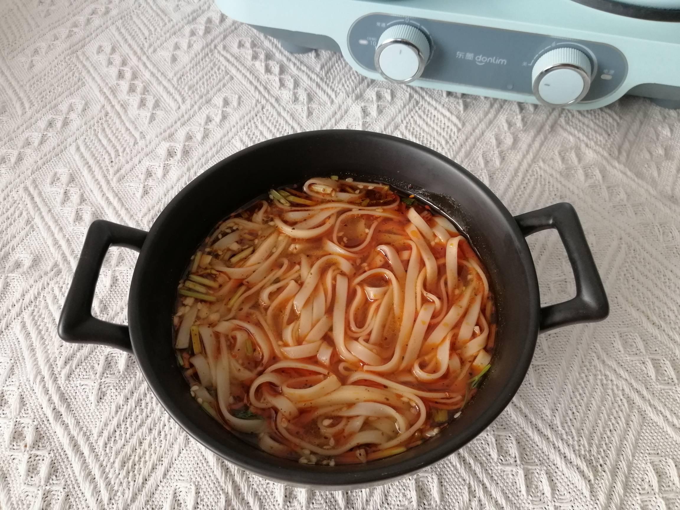 酸汤面的简单做法