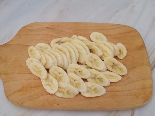 烤香蕉片的做法图解