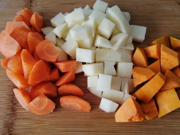 蔬菜杂粮饭的做法图解