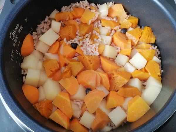 蔬菜杂粮饭怎么煮