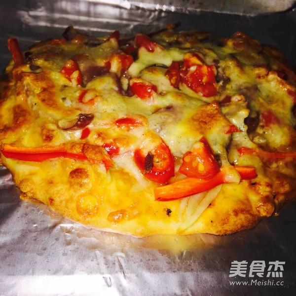 自制烤披萨怎么煮