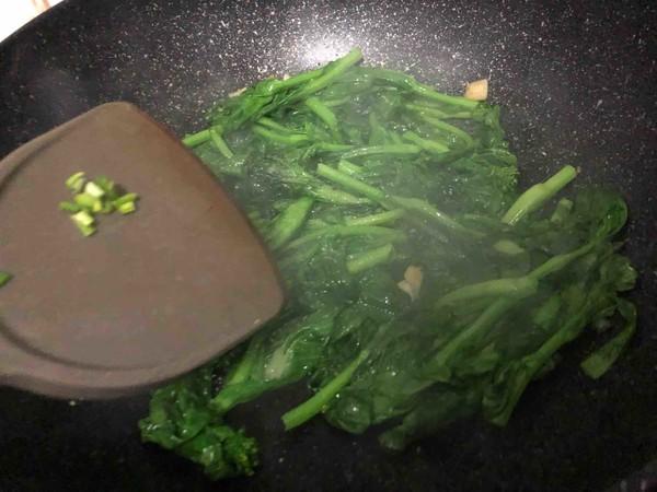 清炒油菜苔怎么吃