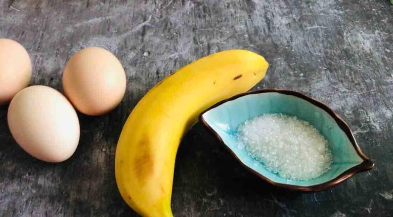 香蕉牛奶厚蛋烧的做法大全