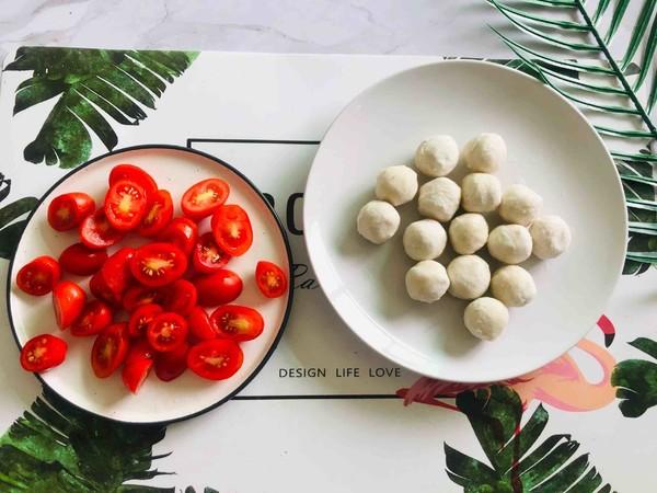 番茄浓汤鱼丸面的做法大全