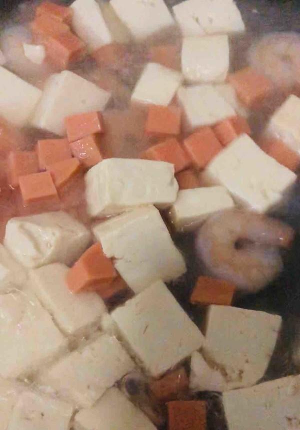豆腐虾仁汤的做法图解
