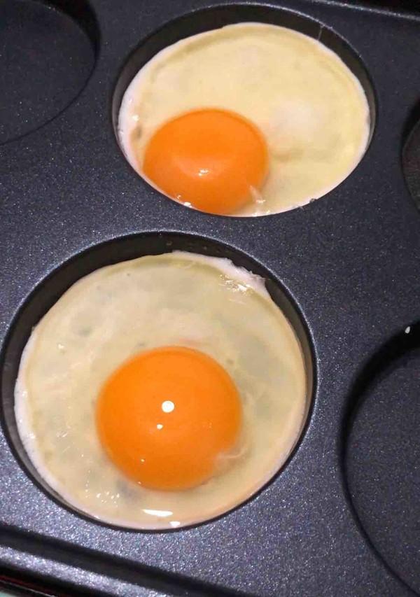 虾仁鸡蛋堡的家常做法