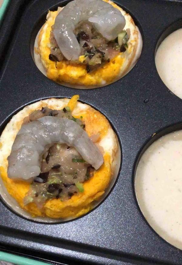 虾仁鸡蛋堡的简单做法