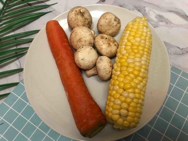 奶香蔬菜浓汤的做法大全