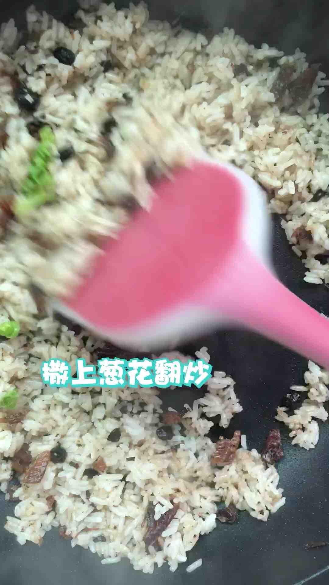豆豉鱼炒饭的家常做法