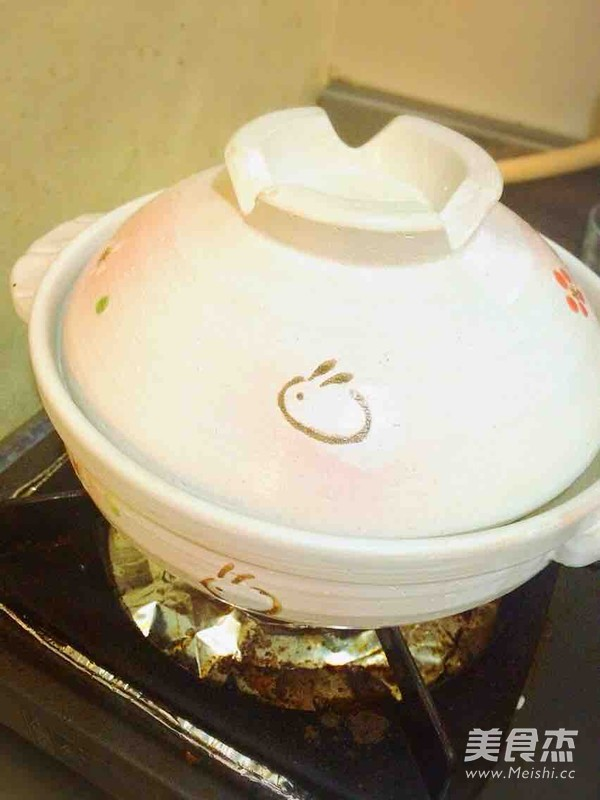 香菇滑鸡砂锅饭(懒人版)的家常做法