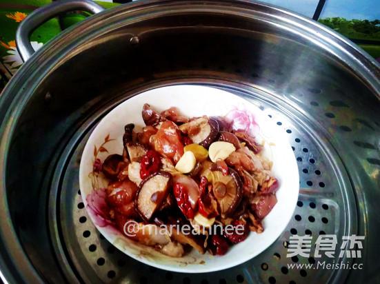 香菇蒸滑鸡怎么吃