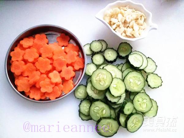 黄瓜胡萝卜炒肉片的做法大全