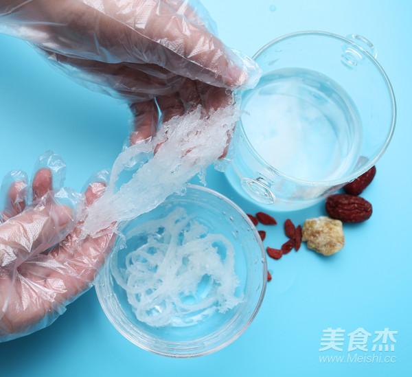 红枣枸杞燕窝的简单做法