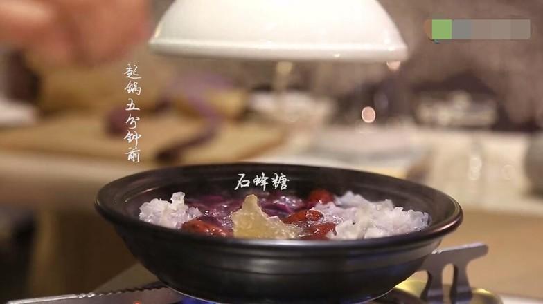 紫薯银耳燕窝怎么炒