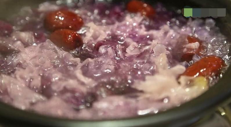 紫薯银耳燕窝怎么煮
