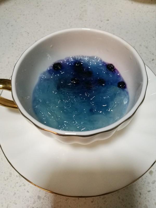冰糖黑枸杞燕窝的简单做法