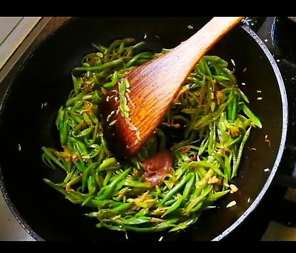 虾酱扁豆怎么吃