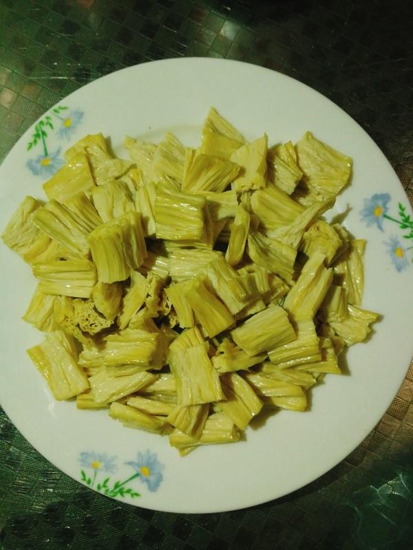 凉拌芹菜腐竹的做法图解
