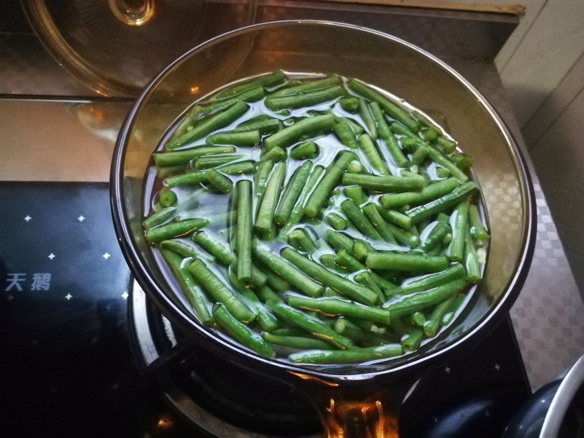 麻酱豇豆的做法图解