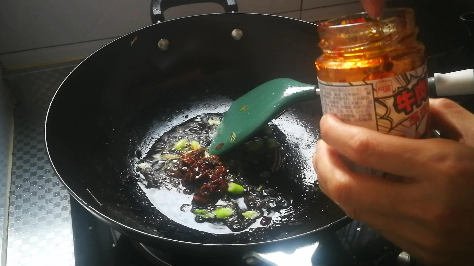 香辣牛肉烧豆腐的做法图解
