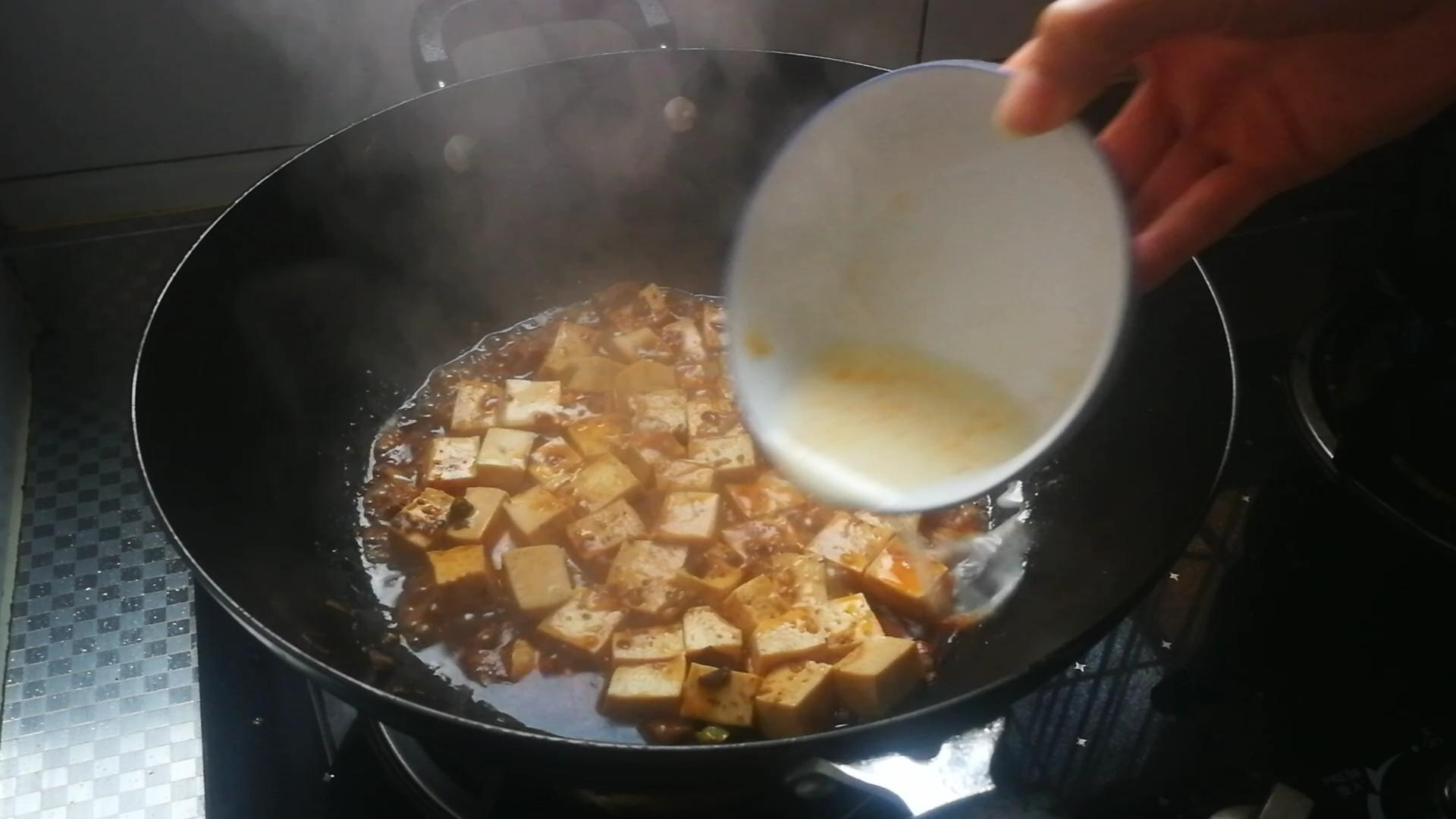香辣牛肉烧豆腐的简单做法