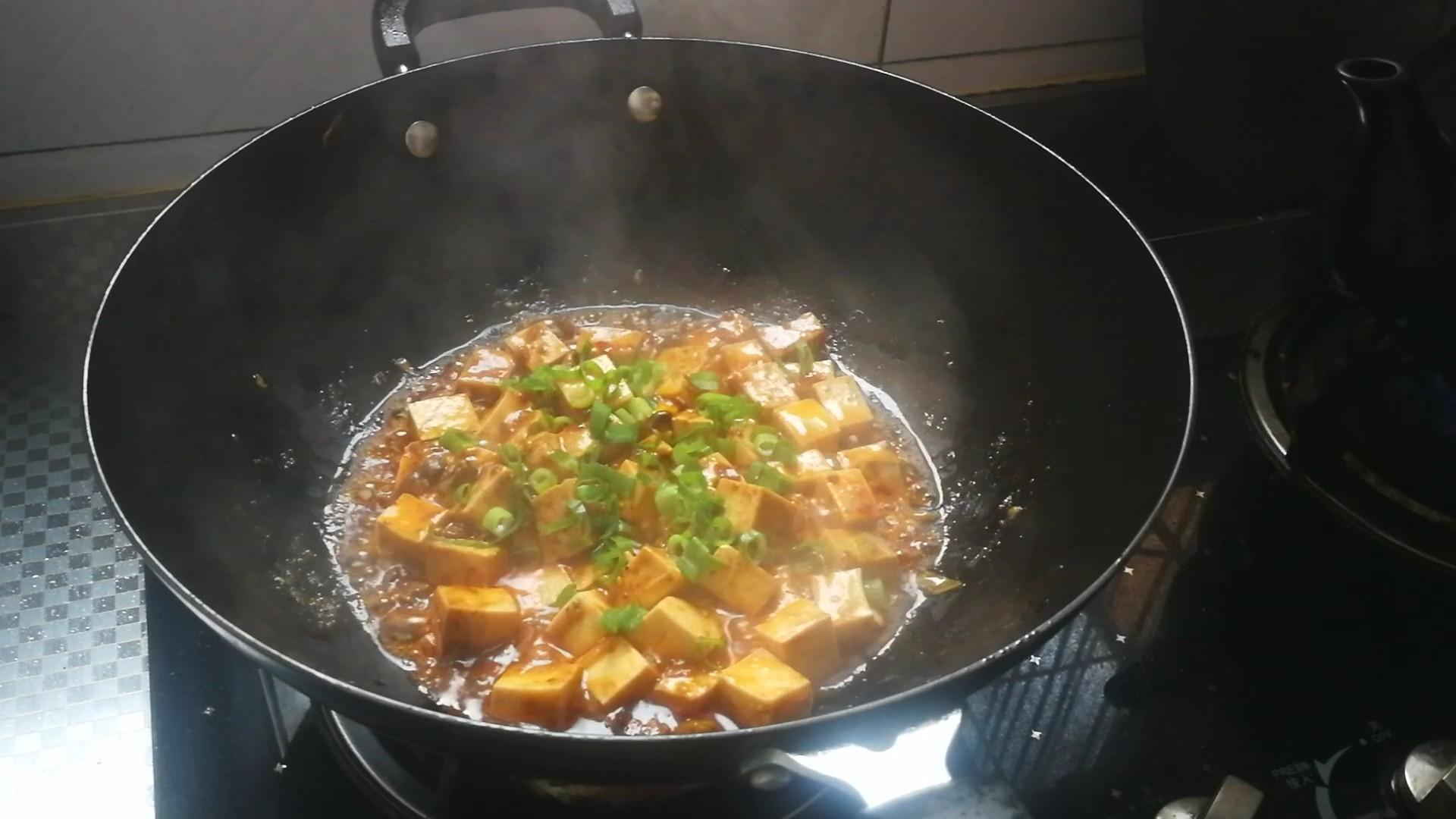 香辣牛肉烧豆腐怎么吃