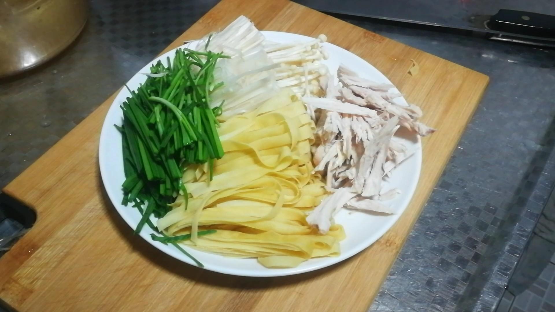 鸡汤米线的做法图解