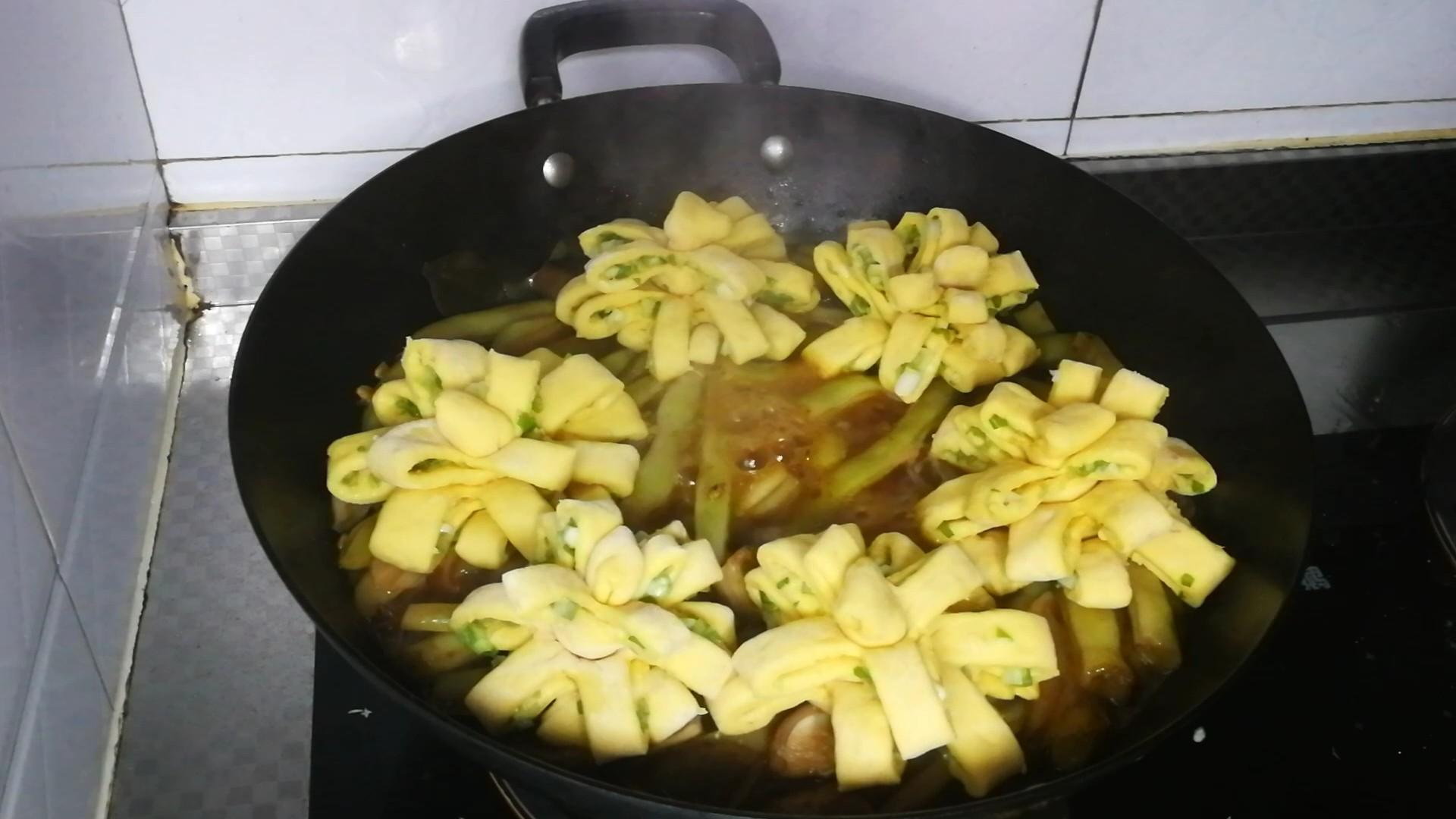 红薯花卷一锅出怎么吃