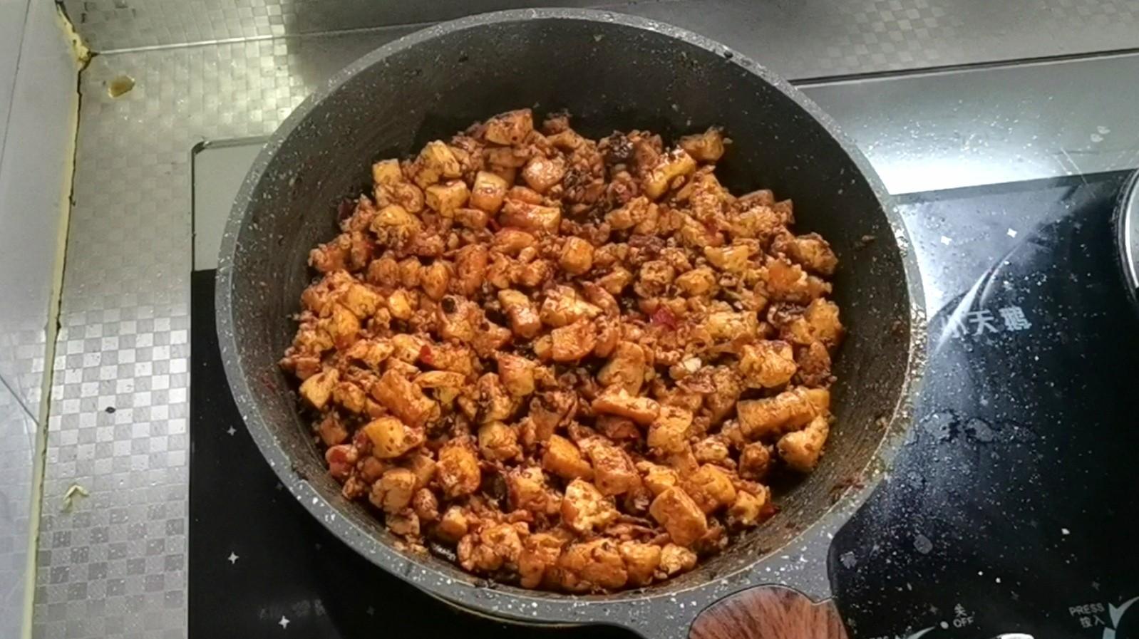 包子的最新吃法~麻婆豆腐馅的家常做法
