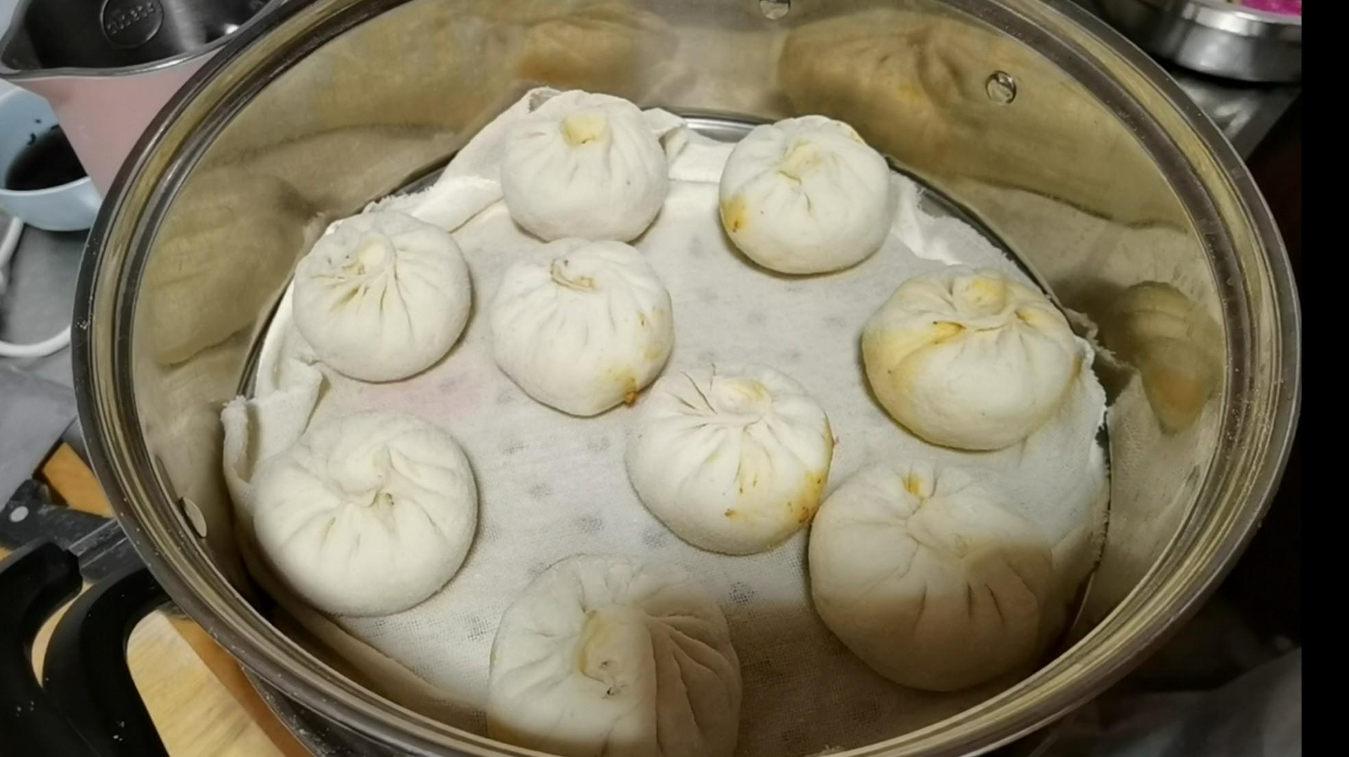 包子的最新吃法~麻婆豆腐馅怎么做