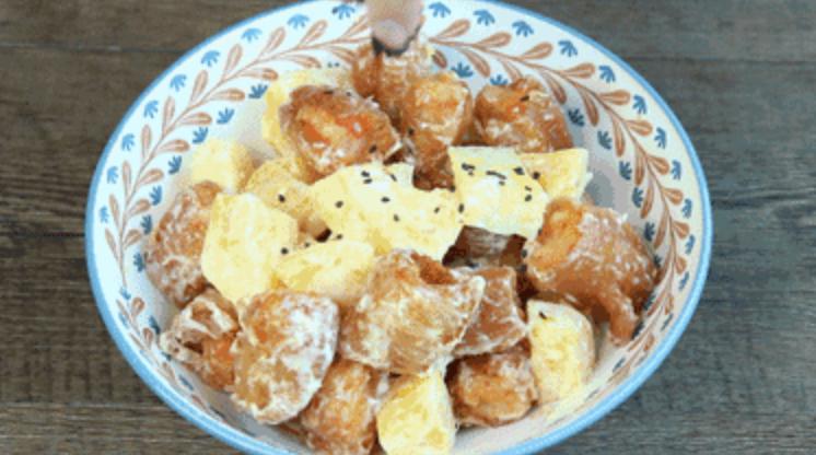绿茶餐厅最受欢迎的菠萝油条虾,一口吃出幸福感怎么煮