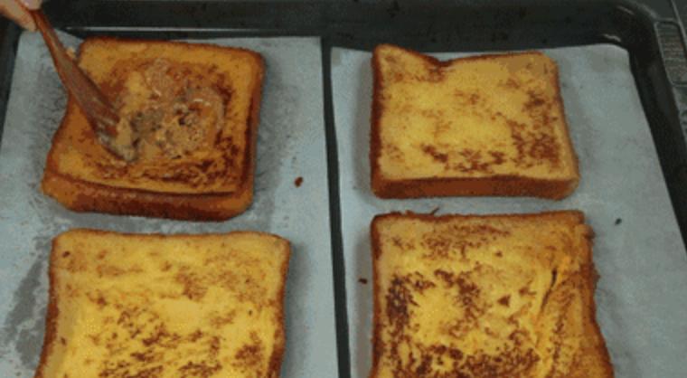 快手棉花糖吐司,熊孩子的制胜法宝的简单做法